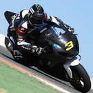 Testing times: Michael Dunlop getting to grips with the new Bennetts-backed Hawk Racing Suzuki GSX-R1000 in Spain