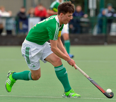 Big chance: Matthew Nelson is looking forward to playing at world level for Ireland