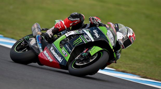 Powering ahead: Ulster ace Jonathan Rea is targeting another double success in Thailand in his bid for a third World title in a row