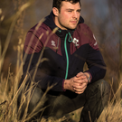 Looking ahead: Robbie Henshaw at Carton House, Ireland's training base