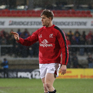 More misery: Andrew Trimble suffered a hand injury against Treviso and will be out for at least a month after surgery