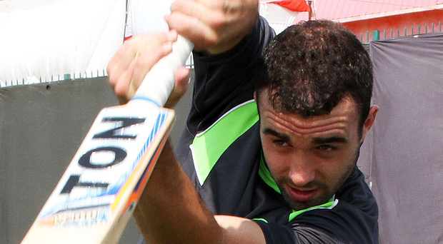 Consolation: Stuart Thompson hit a new high of 56 for Ireland