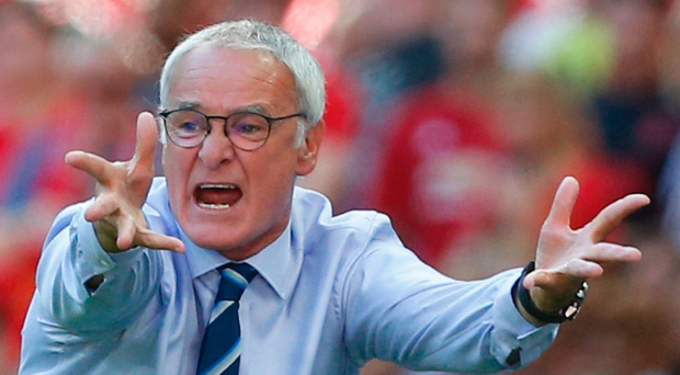 Axed: a rumoured player revolt saw the end of Ranieri