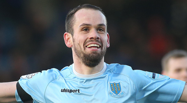 Top man: Tony Kane has been named Player of the Month