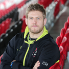 Forward march: Chris Henry has seen Ulster turn their play-off fortunes around in recent weeks