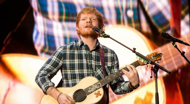 Summing up: Ed Sheeran. Photo by Christopher Polk/Getty Images