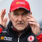 Hectic schedule: the rearranged tie against Cavan has created a daunting run for Mickey Harte