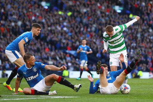 Celtic 1-1 Rangers: We were denied clear penalty - Brendan Rodgers