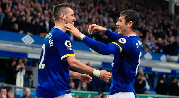 Praise: Morgan Schneiderlin (left) is a fan of Ross Barkley