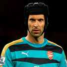On the defensive: Peter Cech