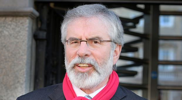Gerry Adams claims James Brokenshire is not neutral
