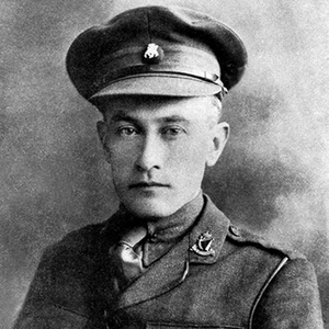Edmund de Wind died in action in 1918