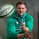 Experience: Fergus McFadden recalled to the Irish squad for the England game. Photo: Morgan Treacy/INPHO