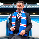 The new manager of Rangers Pedro Caixinha at Ibrox Stadium. Photo: Ian MacNicol/Getty Images