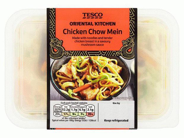 'We are sorry for any inconvenience caused and customers can return the product to their local store for a refund,' a Tesco spokesperson said in a statement, attributing the mix-up to a 'manufacturing error'