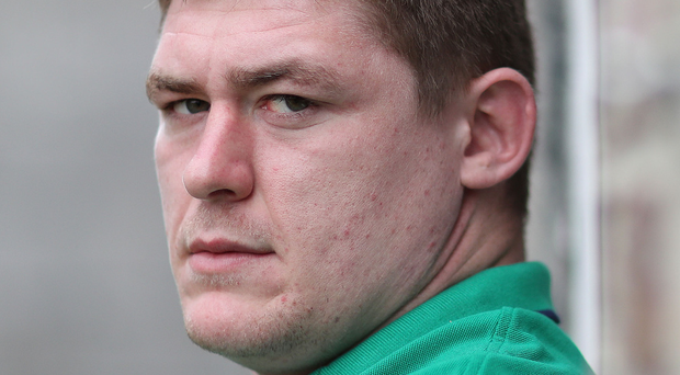 Irish eye: Tadhg Furlong insists Ireland are not thinking about England's record winning run