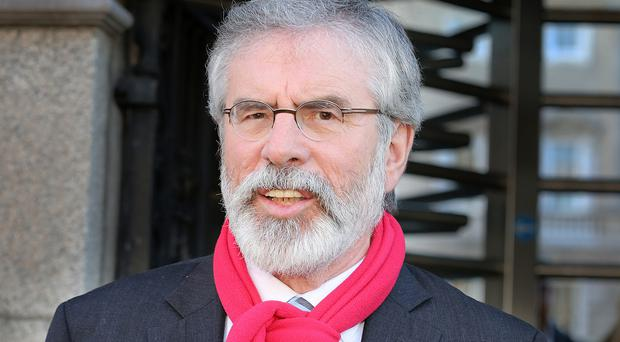 Legal case: Gerry Adams