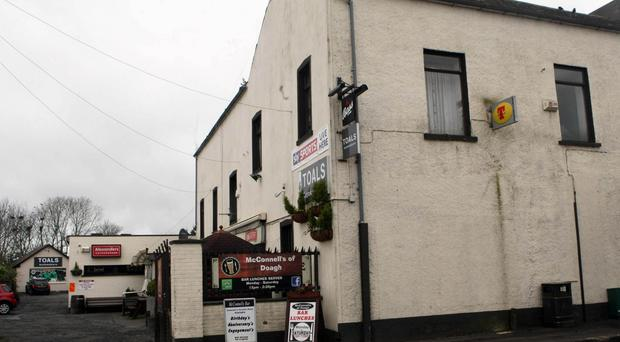 Six men arrested after 'serious assault' in Co Antrim bar. Photo by Freddie Parkinson / Press Eye