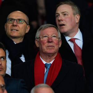 Alex Ferguson the UEFA Europa League Round of 16, second leg match between Manchester United and FK Rostov at Old Trafford on March 16, 2017 in Manchester, United Kingdom. (Photo by Stu Forster/Getty Images)