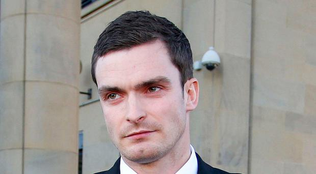 Adam Johnson. Photo: Peter Byrne/PA Wire