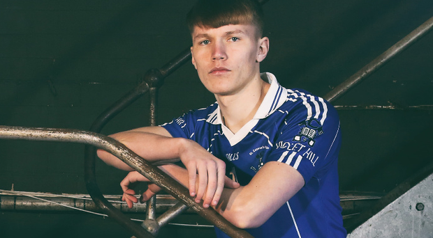 Ready to step up: Rian O'Neill of St Colman's College
