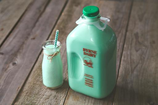Green milk produced in NYC