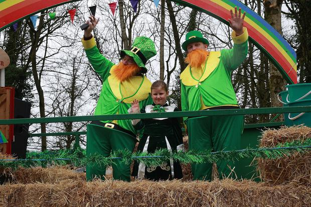 St Patrick's Day celebrations in Armagh City as the floats make their way through the streets of the city centre. Pacemaker