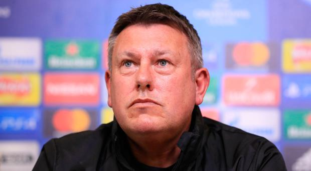 Big test: Craig Shakespeare is relishing Atletico battle