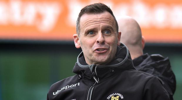 Dungannon Swifts manager Rodney McAree