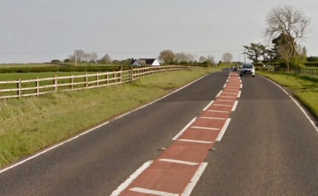 Curragh Road in Coleraine is closed between Bann Road and Coolyvenny Road. File image: Google