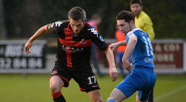 On the ball: Craig McClean is relishing the chance to extend the gap on Linfield once again