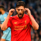 Big blunder: Adam Lallana