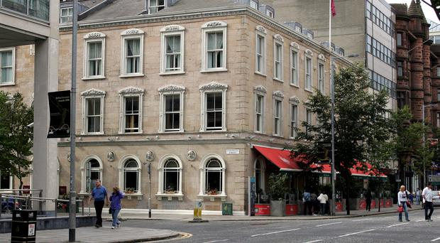 GVA NI were involved in deals with hotels Ten Square (pictured) and the Seagoe, as well as The Thatch Inn Bar in Broughshane