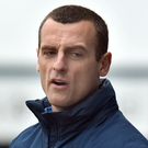 Wary: Oran Kearney expects a gruelling derby battle