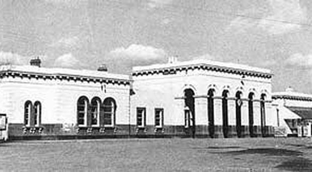 The 10 miles of line between Portadown and Armagh railway station were closed in 1957