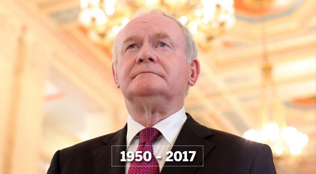 Former Sinn Fein deputy First Minister Martin McGuinness who has died aged 66 (Picture: Presseye)