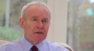 Martin McGuinness in his most recent interview