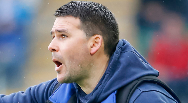 Call to action: David Healy is keen for refs and bosses to get along. Photo: Kevin Scott/Presseye