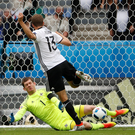 Saved: Michael McGovern in action against Germany at the Euros