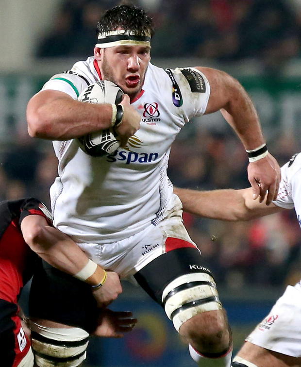 Surgery date: Marcell Coetzee goes under knife today. Photo: Matt Mackey/INPHO