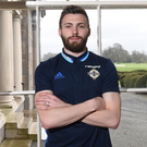 Window of opportunity: Northern Ireland ace Stuart Dallas looks forward to the big World Cup qualifier against Norway from the squad's training base at Carton House in Maynooth