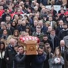 Press Eye Ltd - Northern Ireland - The funeral of Derry City Football Club captain Ryan McBride Photo Lorcan Doherty / Presseye.com