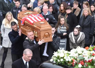 Ryan McBride funeral: Homily in full