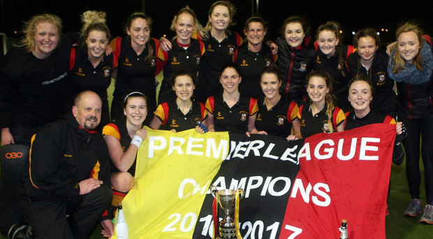 Champions: Lurgan Ladies after retaining the Ulster Premier title with a 3-1 win in midweek at home to Queen's