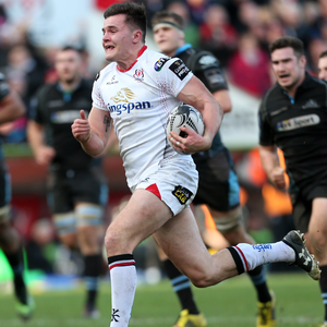 Impact: Jacob Stockdale will be on the bench tonight