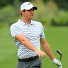 Sinking feeling: Rory McIlroy's bid for glory in Texas ended despite him not playing