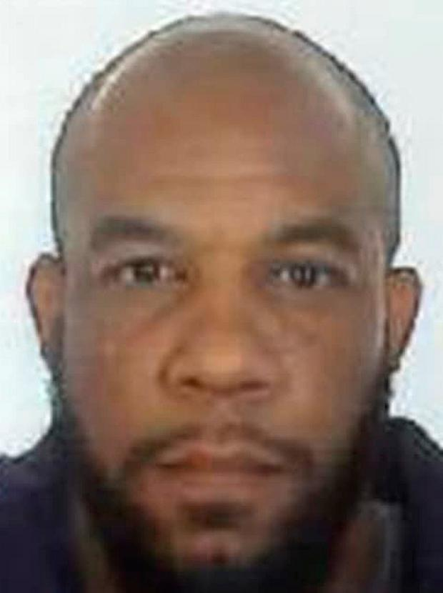 A handout picture released by the British Metropolitan Police Service in London on March 24, 2017 shows Khalid Masood (AKA Adrian Elms, Adrian Russell Ajao), the 52-year-old Briton behind the March 22 terror attack at Westminster Bridge and the British parliament. AFP/Getty Images