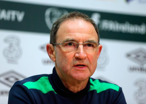 File photo dated 23-03-2017 of Ireland manager Martin O'Neill PA