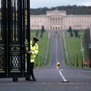 Tick-tock: Stormont's new First Minister and Deputy First Minister must be nominated by Monday at 4pm