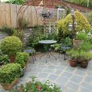 Open season: the Ambrose Place garden in West Sussex which is part of the National Garden Scheme
